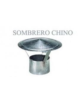 SOMBRERO ESTUFA GALV.CHINO 130MM.