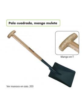 PALA CUADRADA M/MULETA