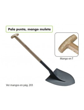 PALA PUNTA  MANGO MULETA