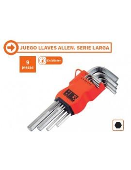 JUEGO LLAVE ALLEN LARGA 9UND.