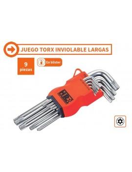JUEGO LLAVE TORX INV.LARGAS...