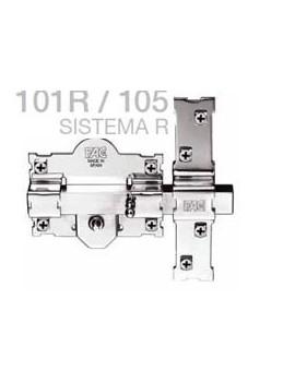 CERROJO FAC 101R/105 B/70 NIQUEL
