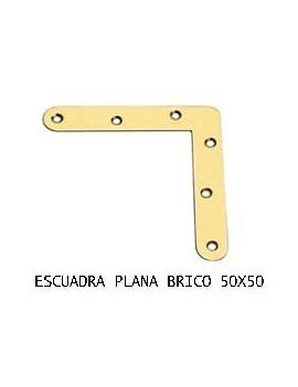 ESCUADRA PLANA 50 X 50 BC.