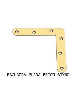 ESCUADRA PLANA 60 X 60 BC.