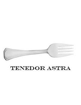 TENEDOR LUNCH ASTRA (?/UNO)