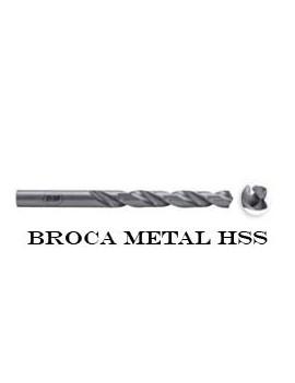 BROCA ACERO HSS LAMINADA 9.5MM.
