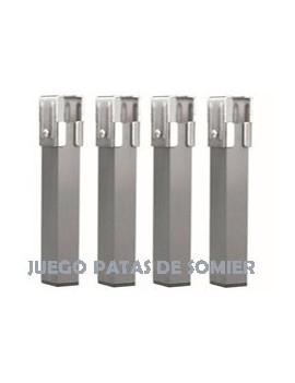 JUEGO PATAS DE SOMIER 30 X 30