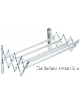 TENDEDERO EXTENS.BLANCO 1.40M