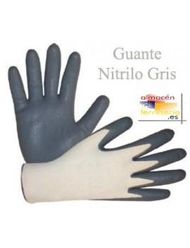 GUANTE NITRILO GRIS T.10