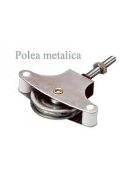 POLEA TENDER C/TUERCA 40 METALICA