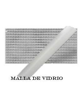 MALLA FIBRA DE VIDRIO GRIS 0.8X30