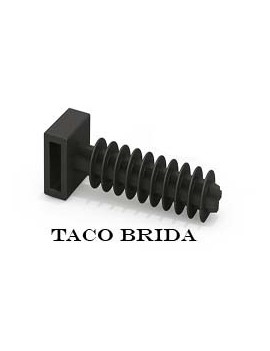 TACO BRIDA N? 6 NEGRO (%)