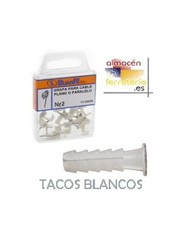 BLISTER TACO BLANCO 5 MM