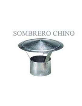 SOMBRERO ESTUFA GALV.CHINO 150MM.