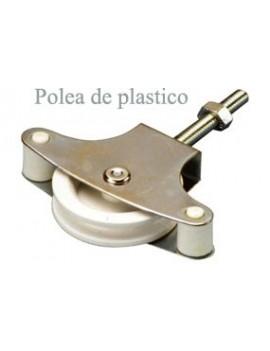 POLEA TENDER C/TUERCA PLASTICO