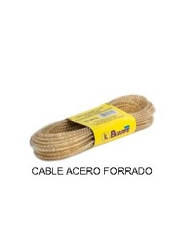 CABLE ACERO 3.5 PLAST. VD.20MTS.